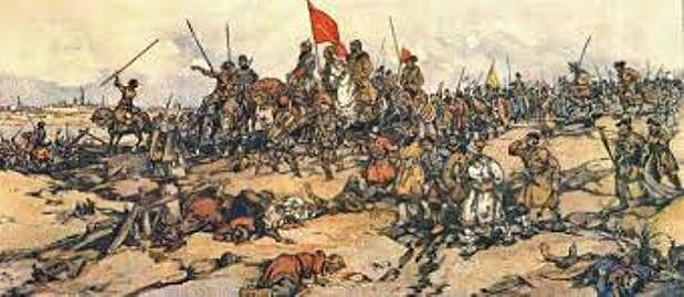 битва на вырках в 1607 г.