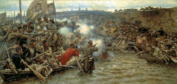 Бой на Чувашевом мысу в 1582 г.