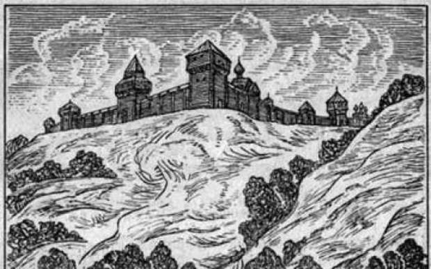 Бой в Воронеже в 1590 г.