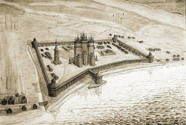 Оборона Кольского острога в 1591 г.