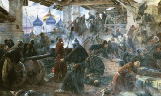 Оборона Троице-Сергиевского монастыря 1608-1610 гг.