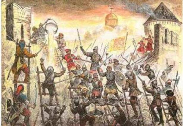 Осада и падение Новгорода в 1611 г.