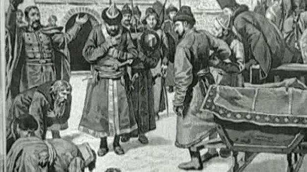 сражение на пчельне в 1607 г.