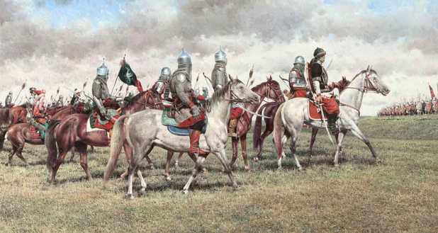 Сражение под Крапивной в 1587 г.